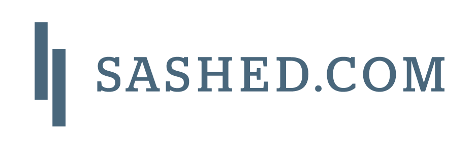 logo of the company sashed
