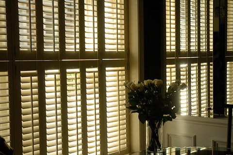 tier on tier shutters example