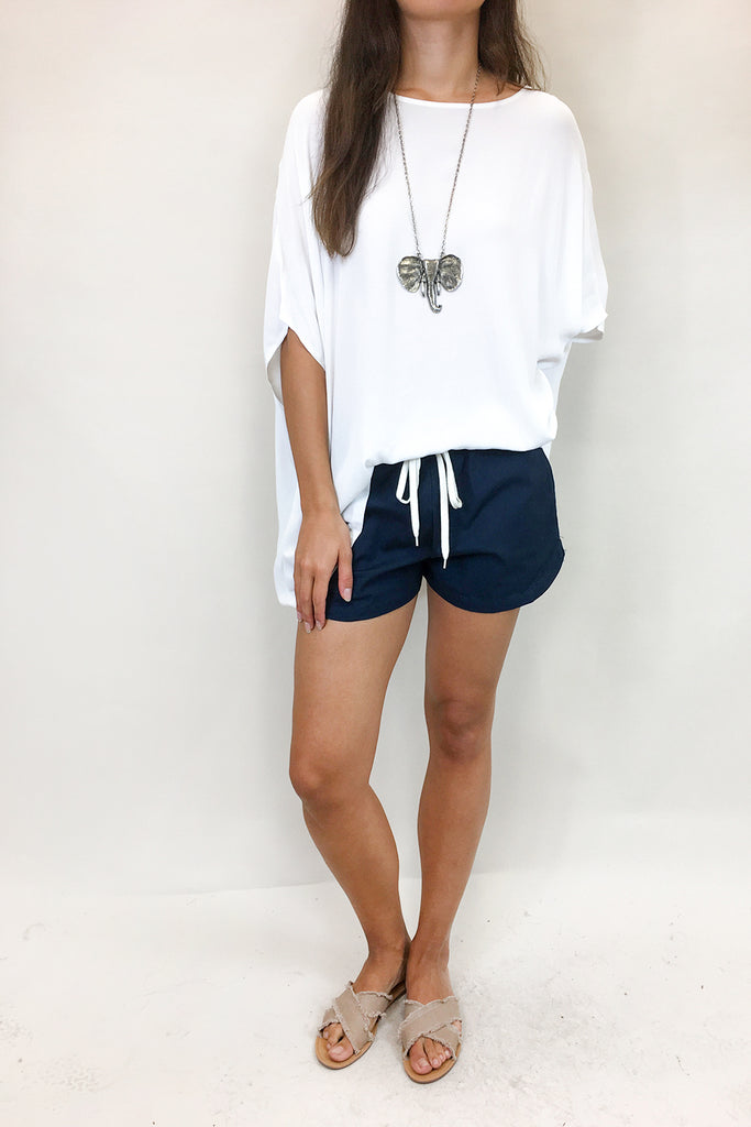 Basic Shorts - Navy