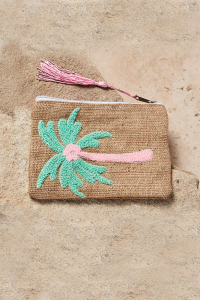 Green / Pink Palm