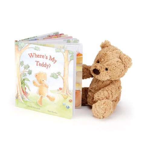 Where's My Teddy Read & Play (1-2yrs), Jellycat - Little Llama