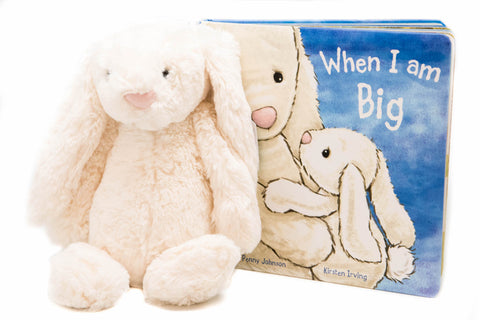 When I Am Big Read & Play (1.5-5yrs), Jellycat - Little Llama