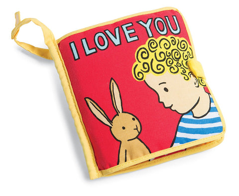 I Love You Book (0-2yrs), Jellycat - Little Llama