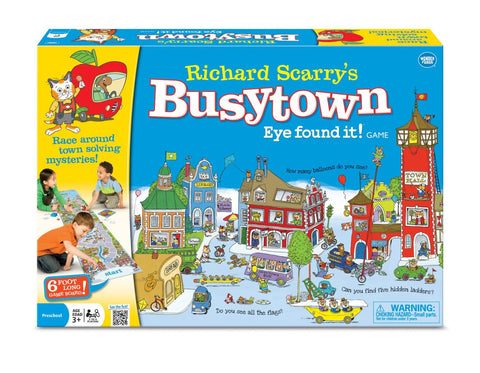 Richard Scarry's Busytown, Eye Found it! (2-7 yrs)