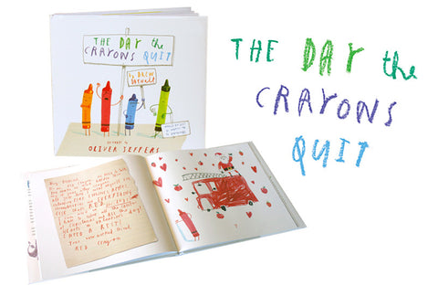 The Day the Crayons Quit, Oliver Jeffers - Little Llama