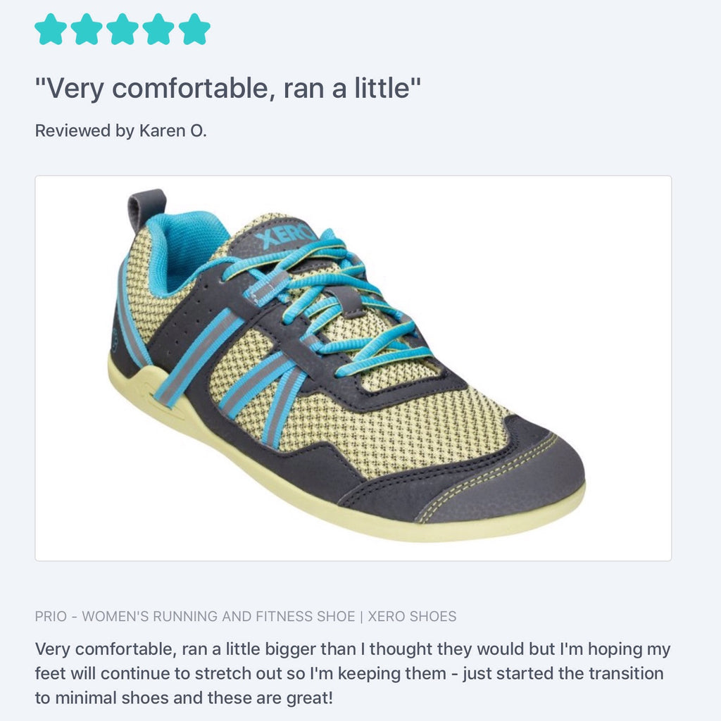 New Review - #1 Prio Women's Running and Fitness Shoe