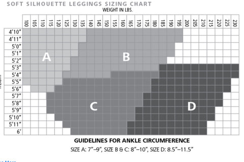 Sigvaris Sizing Chart Leggings