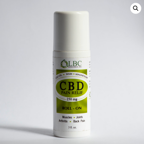 CBD Pain Relief Roll On 250mg | LBC Bioscience
