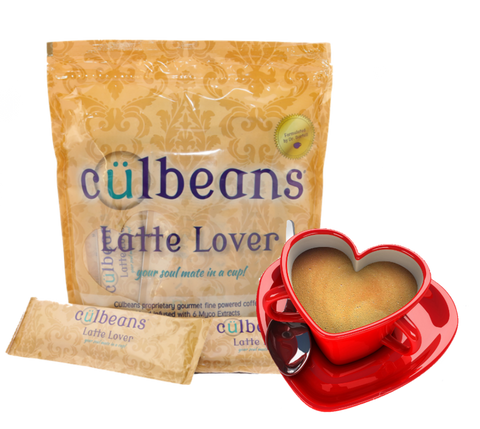 Latte Lover - Sweet and Creamy Latte-6 Organic Mushroom Blend | Culbeans