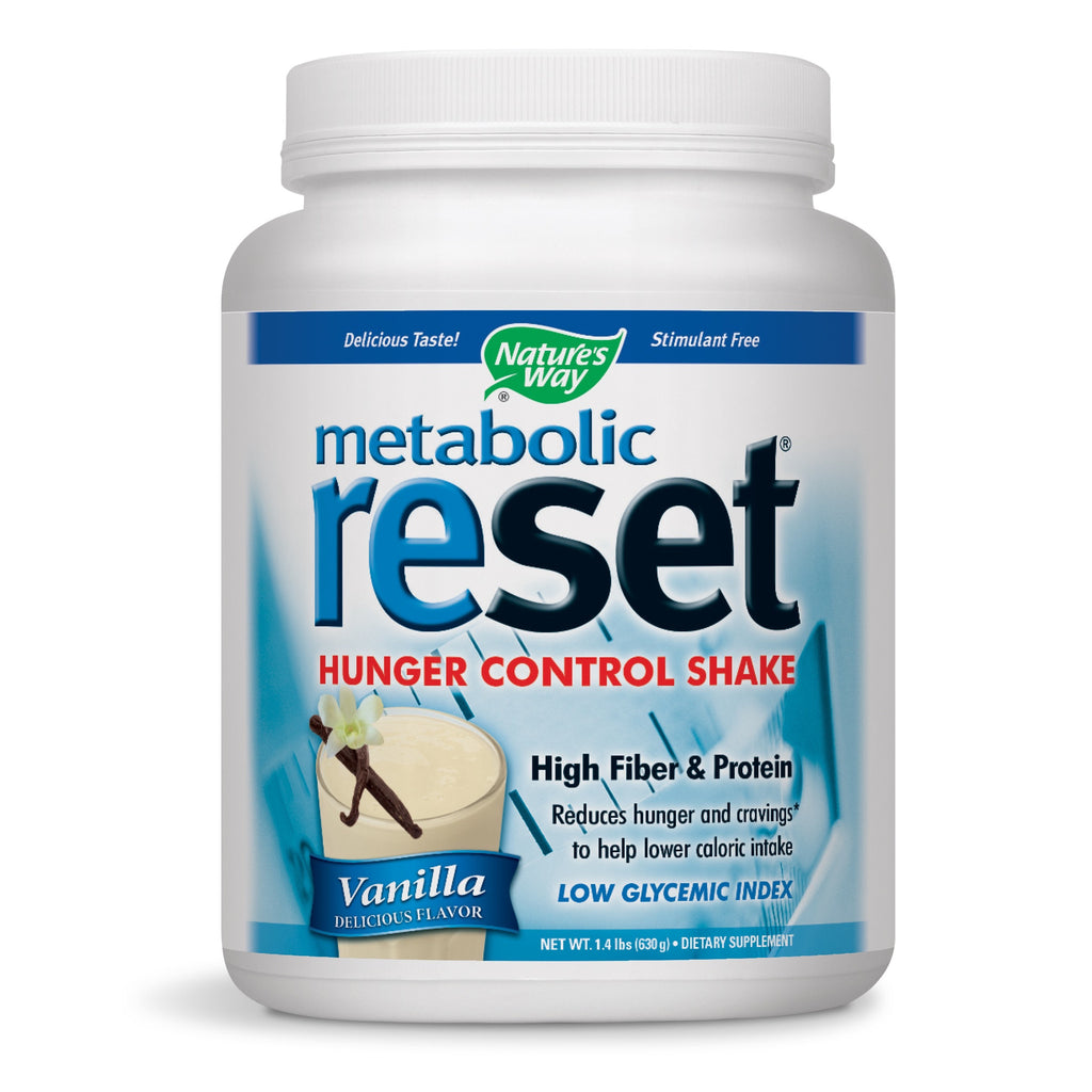 Nature's Way Metabolic Reset Vanilla 630 Grams, 22.22 Ounce