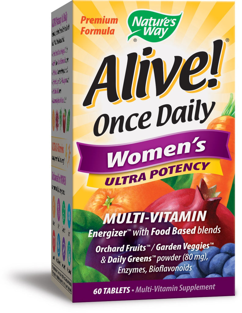 Alive! Once Daily Women's Multi Vitamin Ultra Potency Tabs