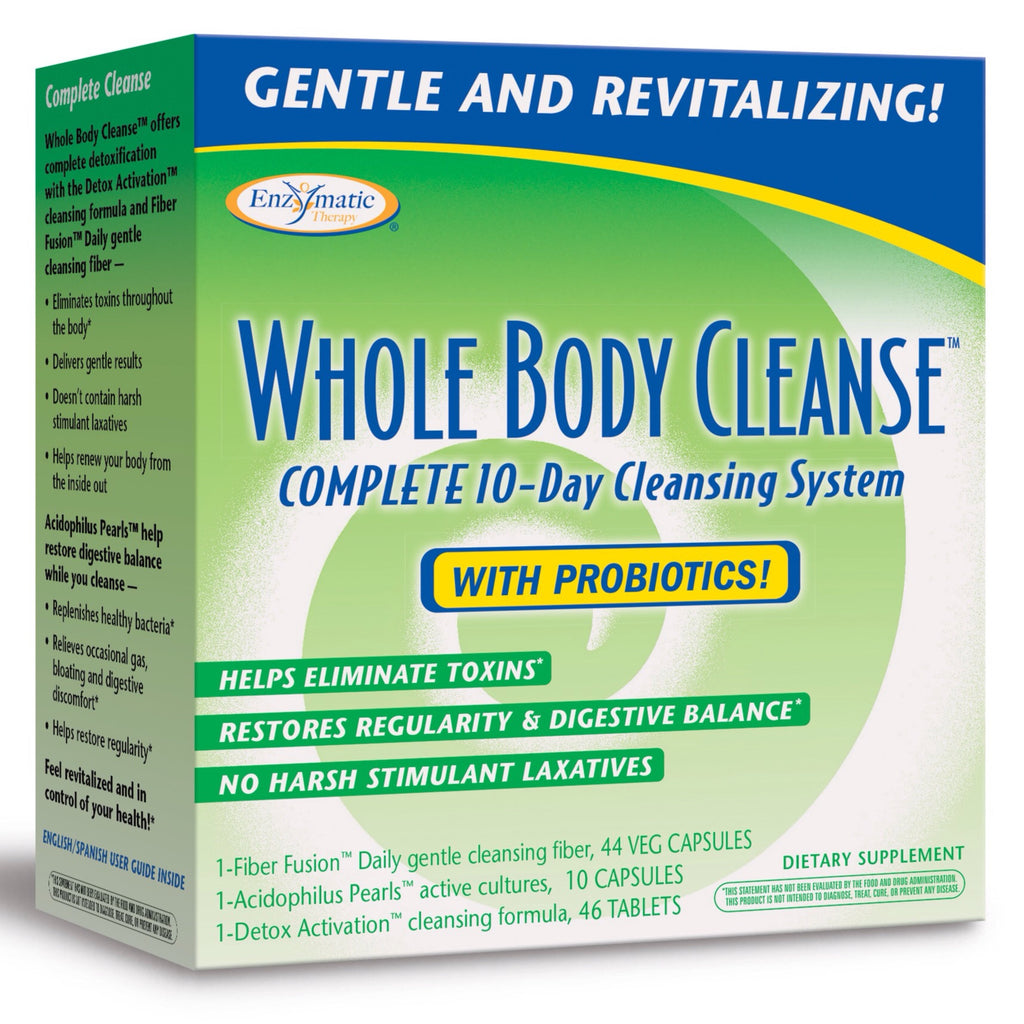 Enzymatic Therapy Whole Body Cleanse, 10 Day