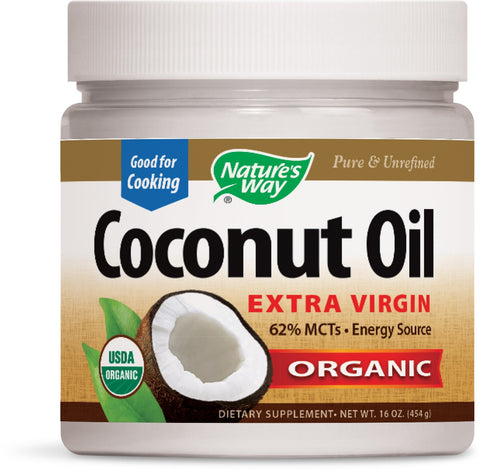 Nature's Way Coconut Oil Extra Virgin Organic 16 Ounce
