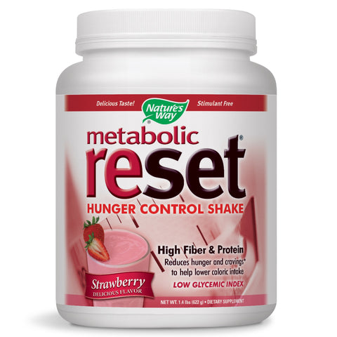 Nature's Way Metabolic Reset Strawberry 630 Gram, 22.22 Ounce