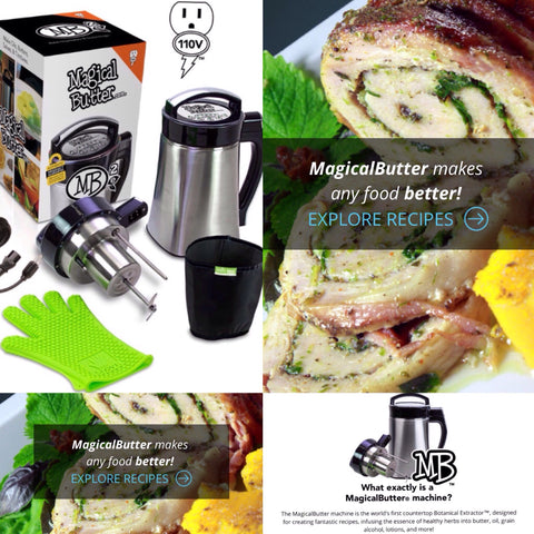 Magical Butter MB2e | Butter Making Machine Herb Butter, Oil, Food and Drink