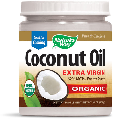 Nature's Way Coconut Oil Extra Virgin Organic 32 Ounce