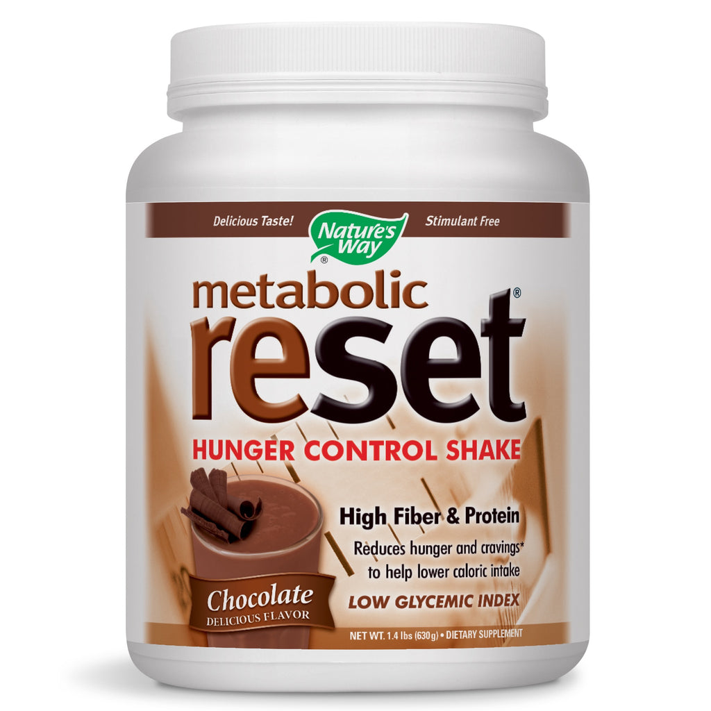 Nature's Way Metabolic Reset Chocolate 630 Grams, 22.22 Ounce