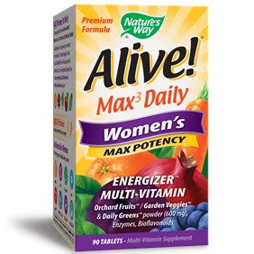 Alive! Max Potency Women's Multi Tablet, 90 Count
