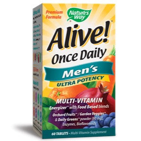 Alive! Once Daily Men's Ultra Potency / 60 Tabs