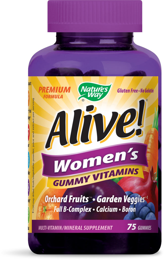 Alive! - Women's Energy Gummy Multi-Vitamins Chewables