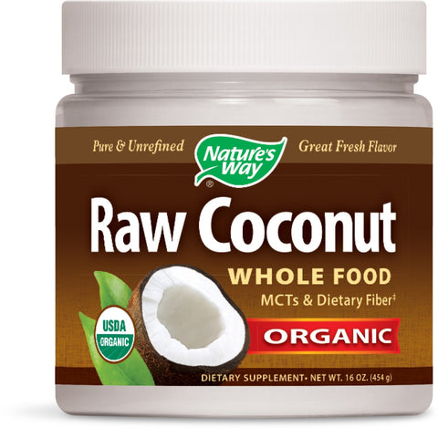 Nature's Way Raw Coconut Organic 16 Ounce