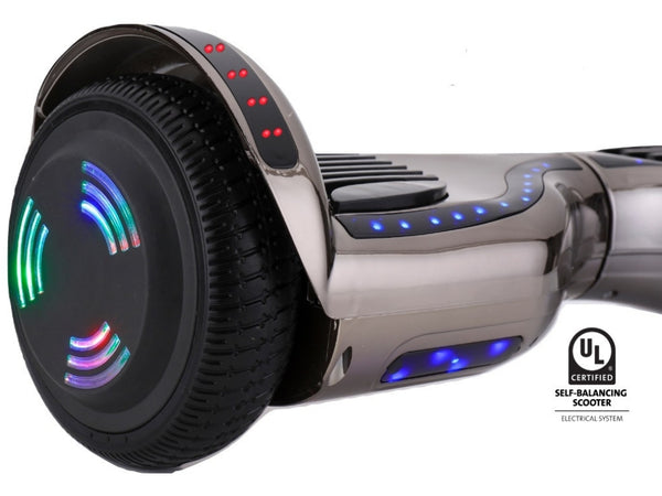 prozip stealth self balancing hoverboard scooter with gps. Black Bedroom Furniture Sets. Home Design Ideas