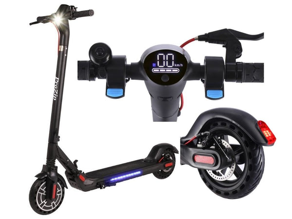 "ProZip ""Edge"" UL2272 Commuting Electric Scooter 31Km/h Top Speed, LCD Display, App, Phone Charge Port, Dual Brakes, Bluetooth, Canada's Best Scooter"