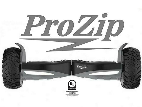 "ProZip ""Hummer"" UL2272 Off Road With GPS, APP, AutoLevel, Bluetooth, Canada's Best All Terrain Hoverboard Scooter"