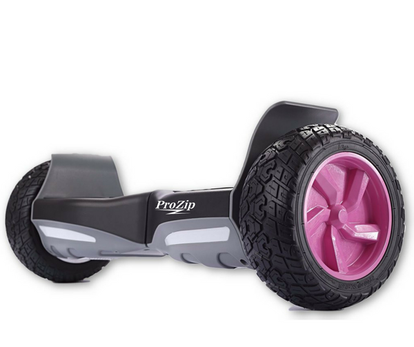 "ProZip ""Hummer"" UL2272 Off Road With GPS, APP, Bluetooth & AutoLevel Canada's Best All Terrain Hoverboard Pink Hubs"