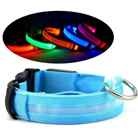 LED Light Emitting Dog Collar Dog Leash