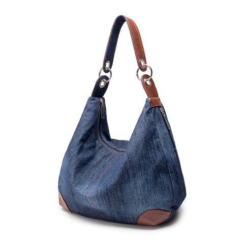 2016 Large Luxury Handbags Women Bag Designer Ladies Hand bags Big Purses Jean Tote Denim Shoulder Crossbody Women Messenger Bag - JCBling Prime