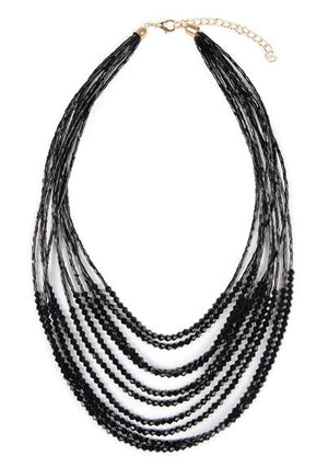 Black Layers Necklace
