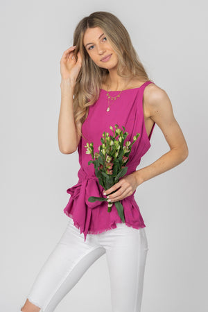 Sleeveless Top Wrap