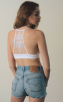 Tattooed Racerback-White