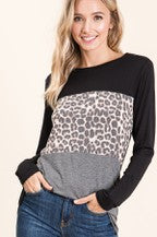 Leopard Color Block