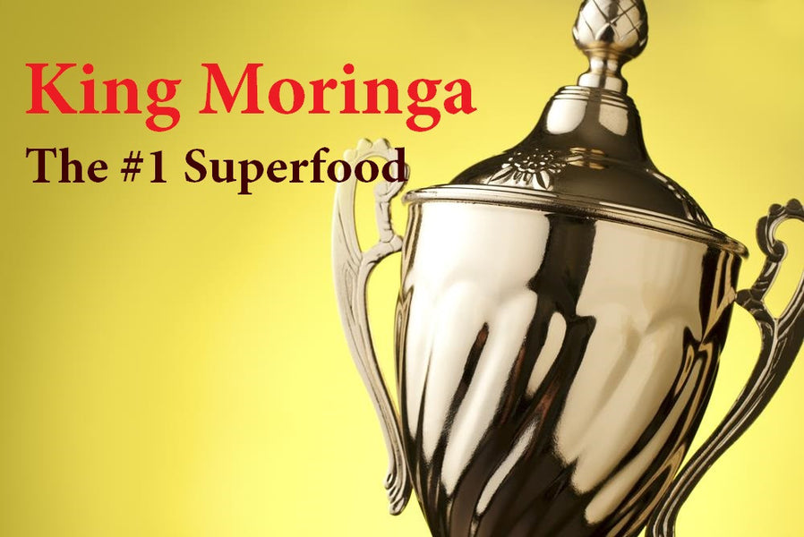 Moringa Ranks #1 in List of Superfoods - A Title Well Deserved