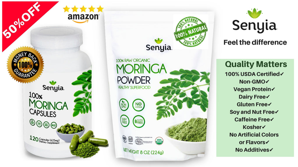 50% OFF Moringa-Black Friday2018