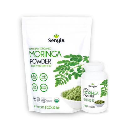 Senyia Moringa Bundle - Powder + Capsules