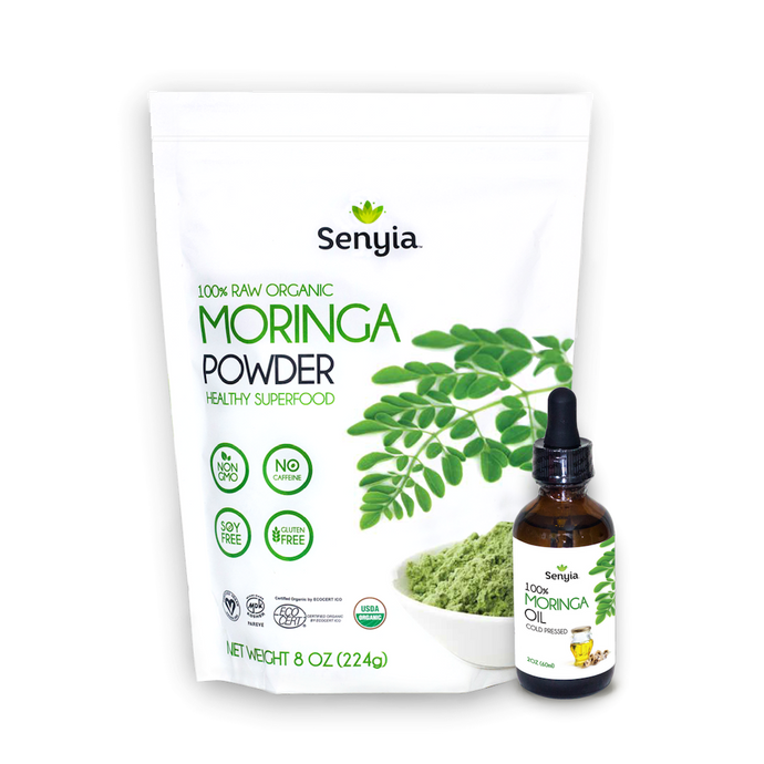 Senyia Moringa Bundle - Powder + Oil