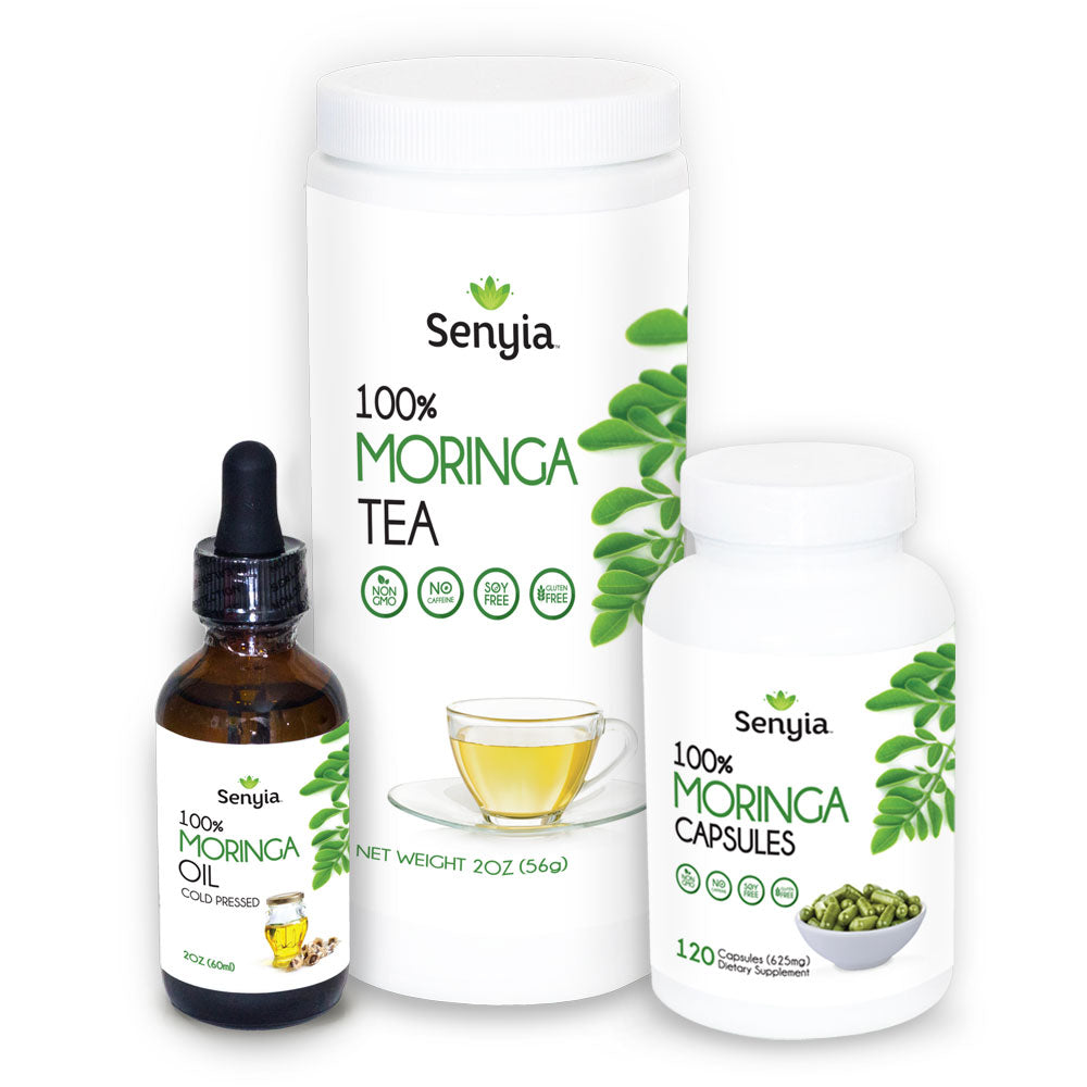 Senyia Moringa Bundle - On the Go Kit