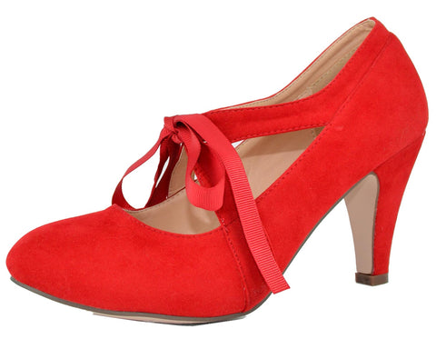 Red Suede#!0