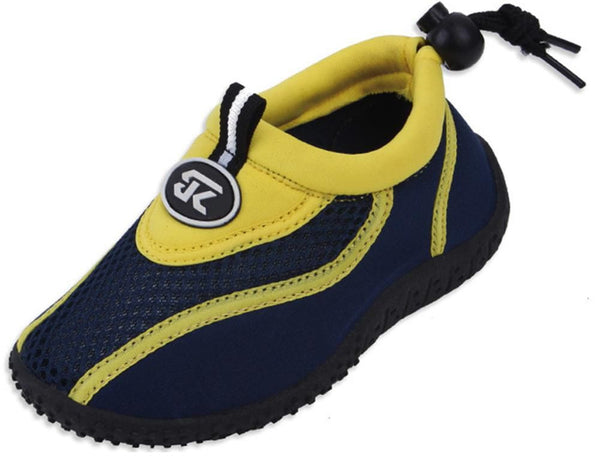 Cambridge Select Kids' Slip-on Quick Dry Mesh Non-Slip Drawstring Water Shoe (Toddler/Little Kid/Big Kid)