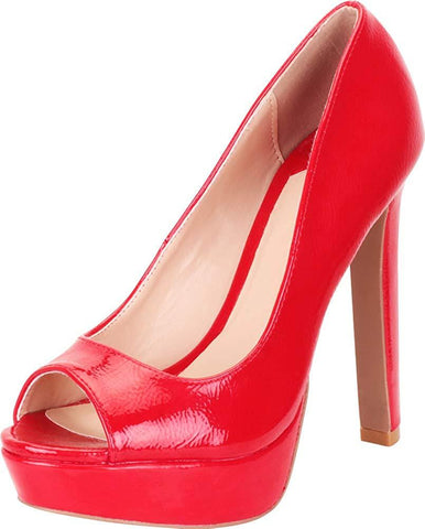 Red Patent PU#!0