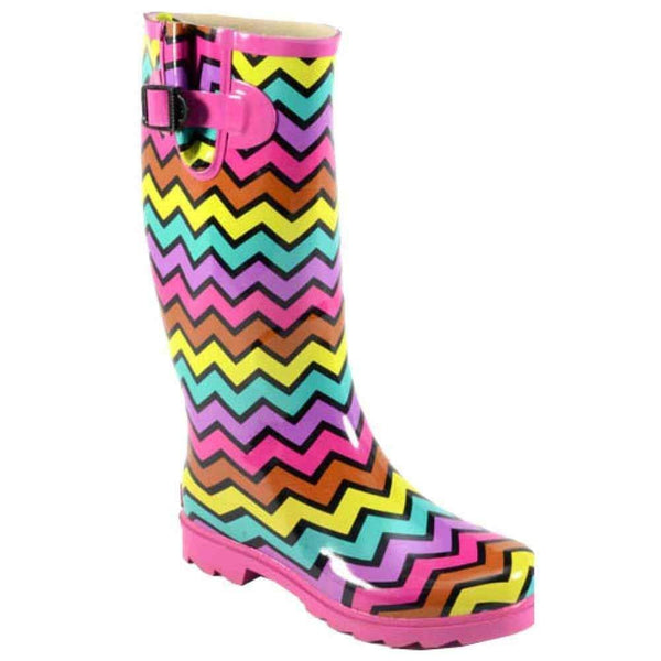 Fuschia Multi Chevron#!0