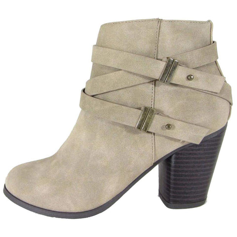 Light Taupe Distressed PU#!0