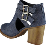Dark Blue MJ Texture Denim#!2