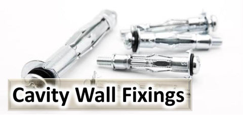 Cavity Wall Anchors, Brolly Plug, Umbrella, Spring Toggle, Speed Anchor, Plasterboard Fixing, Drywall Anchor