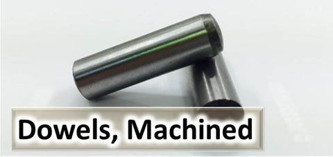 Engineers, steel, dowel, pins, Hardened, Ground, stainless, self colour, high tensile