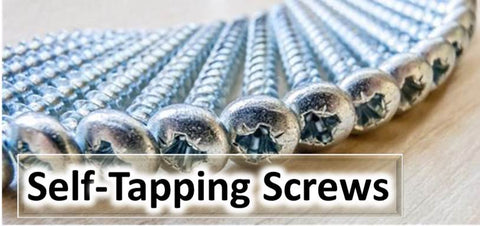Self Tapping Screws, Window Screws, Self Tappers, Self Tap, Zinc pan self tapping screw, A2 Stainless Steel csk self tapper, Posidrive, Pozi, Countersink, Countersunk, CSK, Pan Head