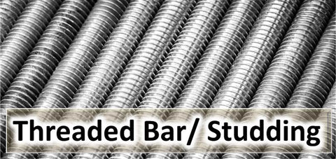 threaded bar, threaded rod, threaded studding, all thread bar, 4.8, 8.8, 10.9, 12.9, Zinc, Self Colour, A2, 304, A4, 316, Stainless Steel. BA, Metric, UNC, UNF, BSF, BSW, Whitworth.